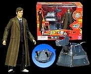 Doctor Who Remote Control K-9 with Doctor Figure
