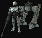 Robocop and ED-209 Mini-Figures