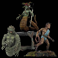 Clash of the Titans Creatures Figures