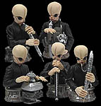 Star Wars Cantina Band Bust Ups Box Set
