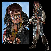 Cannibal Jack Sparrow - Talking 18 inch Action Figure