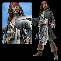 18 inch Talking Jack Sparrow by NECA