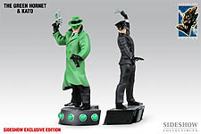 Green Hornet and Kato Statue Set - Sideshow Exclusive Edition