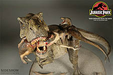 When Dinosaurs Ruled the Earth - T-Rex VS Velociraptors