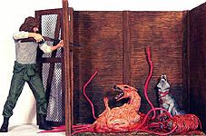 The Thing Deluxe Diorama - Now Playing Series 3