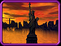Liberty Sunset - 2099