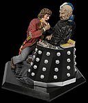 Doctor Who and Davros Statue